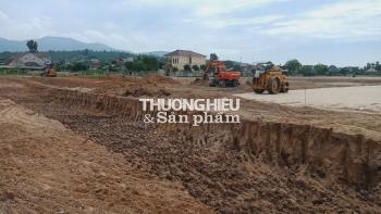 """Dự án TNR Stars Hồng Lĩnh – Kỳ 3: """"Tận dụng"""" đất phong hóa để đắp nền"""