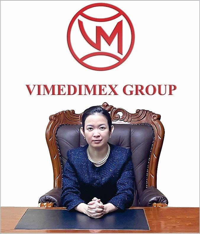 Thạc sỹ, bác sỹ Trần Mỹ Linh - Tổng giám đốc Công ty cổ phần y dược phẩm Vimedimex, kiêm chủ tịch HĐQT công ty TNHH MTV Vimedimex Bình Dương