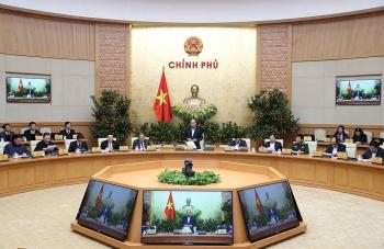 Thông cáo báo chí phiên họp Chính phủ thường kỳ tháng 2/2021