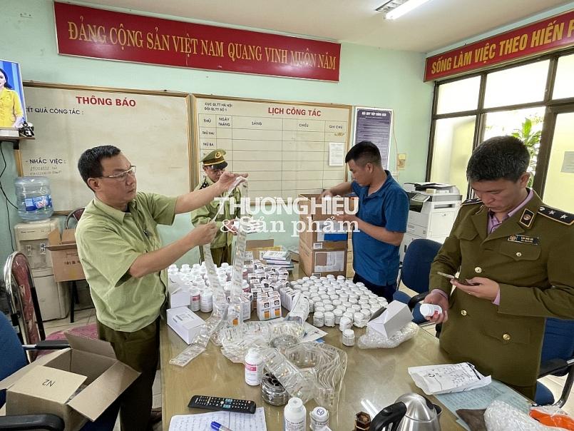 Hà Nội: Phát hiện gần 300.000 sản phẩm dược phẩm Hàn Quốc không hóa đơn, chứng từ