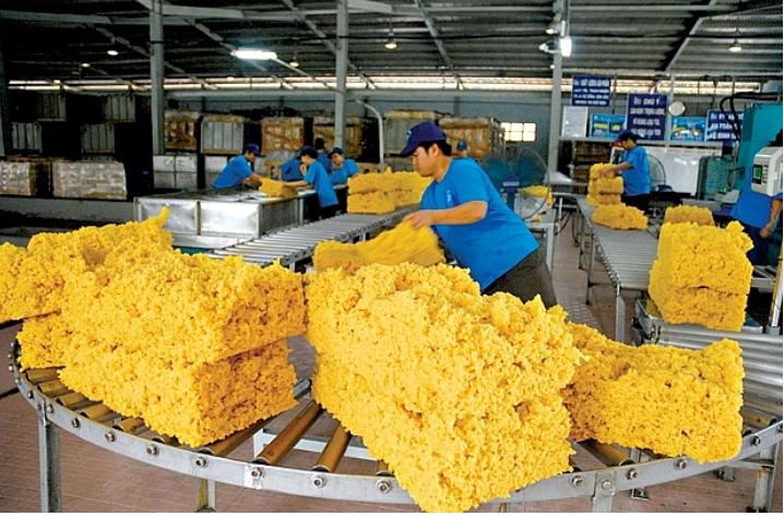 Xuất khẩu cao su đạt khoảng 1,87 tỷ USD trong 8 tháng