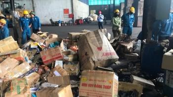 Bà Rịa - Vũng Tàu: Tiêu hủy gần 13.000 sản phẩm hàng hóa nhập lậu