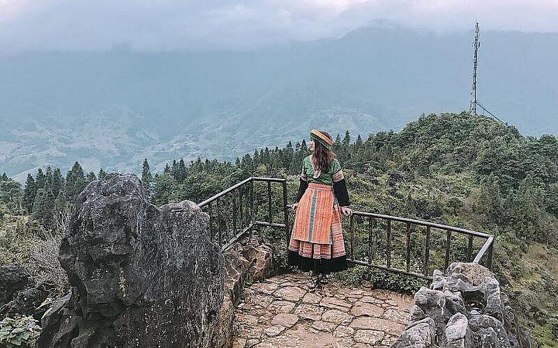 Núi Hàm Rồng ở Sapa là một trong top 8 điểm ngắm nhìn hoàng hôn đẹp nhất Việt Nam