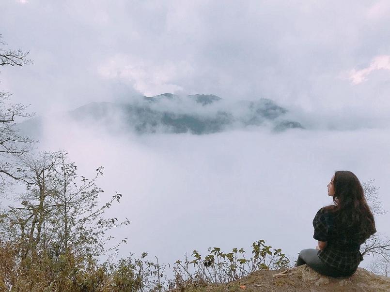 Bản Sâu Chua ở trên rất cao, và đây chính là điều kiện tuyệt vời để săn mây tại Sapa