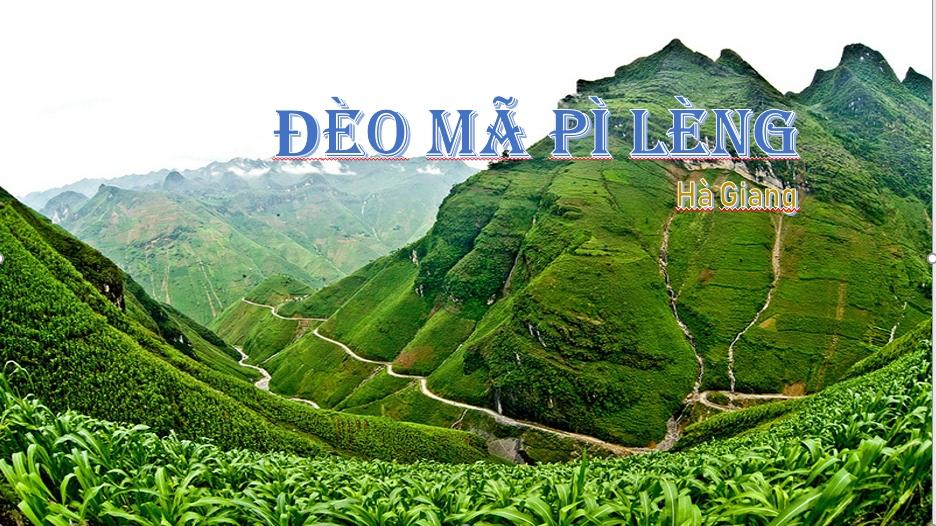 Review du lịch Hà Giang: Hành trình chinh phục đèo Mã Pí Lèng
