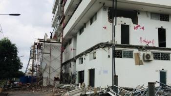 TP HCM: Cưỡng chế hàng loạt chung cư mini xây sai phép