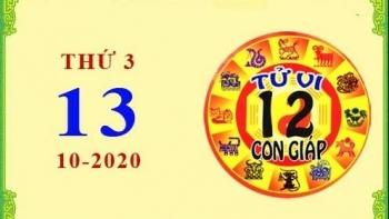 Tử vi Phương Đông 12 con giáp Thứ 3 ngày 13/10/2020