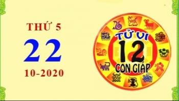 Tử vi Phương Đông 12 con giáp thứ 5 ngày 22/10/2020