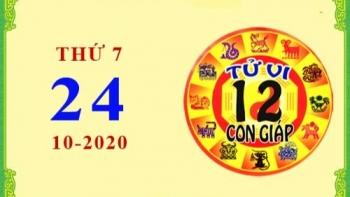 Tử vi Phương Đông 12 con giáp thứ 7 ngày 24/10/2020