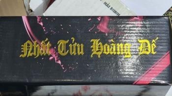 Cảnh báo: Rượu Nhất Tửu Hoàng Đế có thể gây ngộ độc cồn