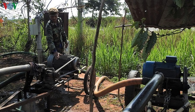 Máy bơm sử dụng điện thay thế cho máy dầu Diesel