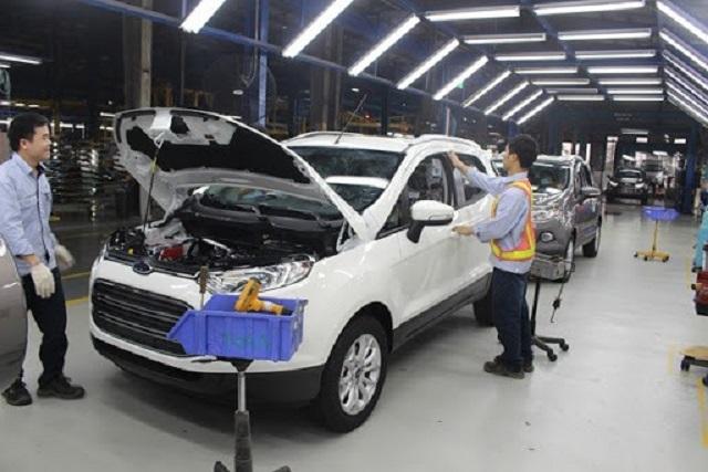 Nhà máy Ford tại Hải Dương sẽ tạm dừng hoạt động từ ngày 26/3.