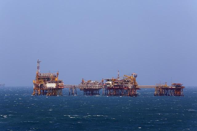 Giàn khoan dầu Công nghệ trung tâm số 2 mỏ Bạch Hổ